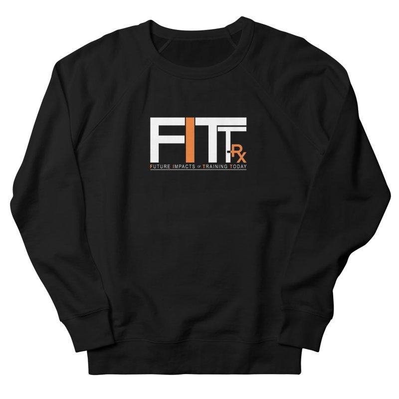 FITT-RX white logo Men's Sweatshirt by FITT-RX's Apparel Shop