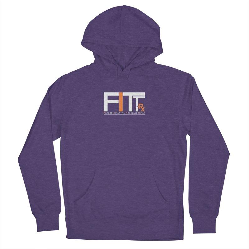 FITT-RX white logo Women's Pullover Hoody by FITT-RX's Apparel Shop