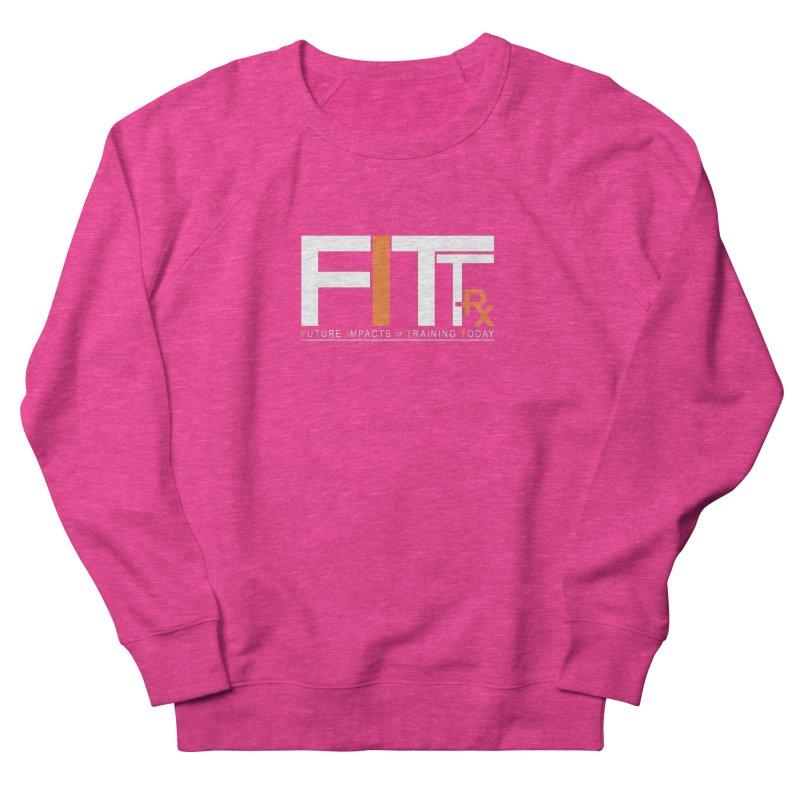 FITT-RX white logo Women's Sweatshirt by FITT-RX's Apparel Shop