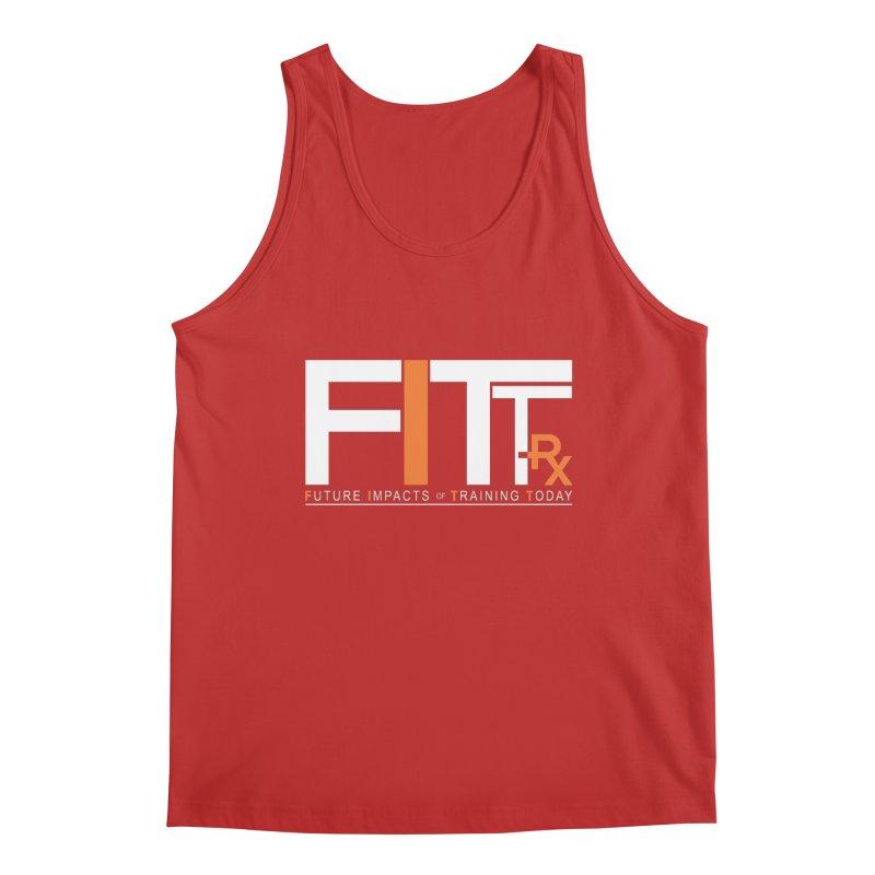 FITT-RX white logo Men's Tank by FITT-RX's Apparel Shop
