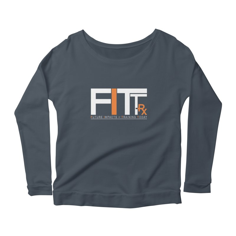 FITT-RX white logo Women's Longsleeve T-Shirt by FITT-RX's Apparel Shop