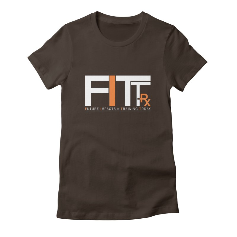 FITT-RX white logo Women's T-Shirt by FITT-RX's Apparel Shop