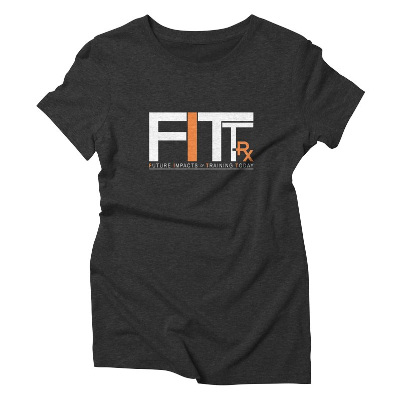FITT-RX white logo Women's Triblend T-Shirt by FITT-RX's Apparel Shop