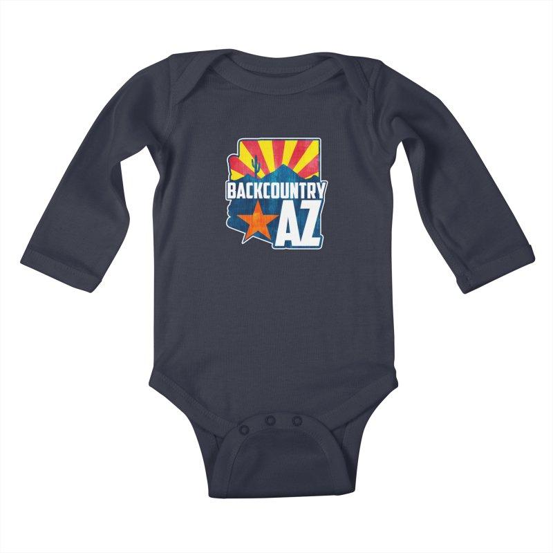 Backcountry Arizona Kids Baby Longsleeve Bodysuit by five16design's Artist Shop