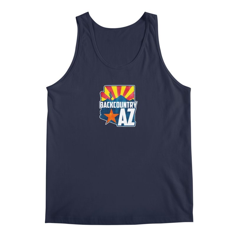 Backcountry Arizona Men's Tank by five16design's Artist Shop