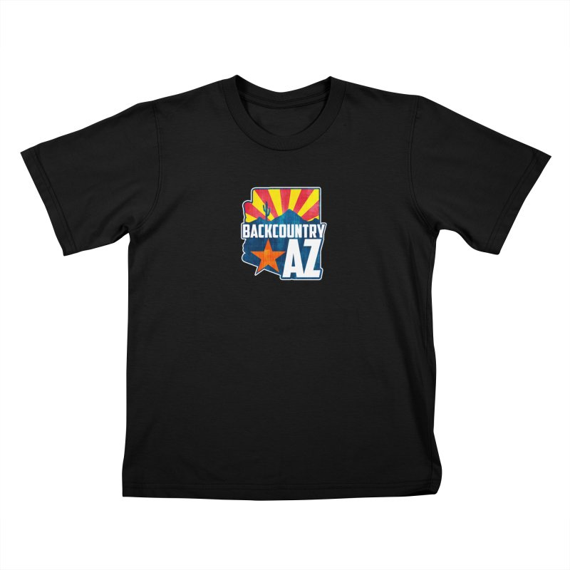 Backcountry Arizona Kids T-Shirt by five16design's Artist Shop