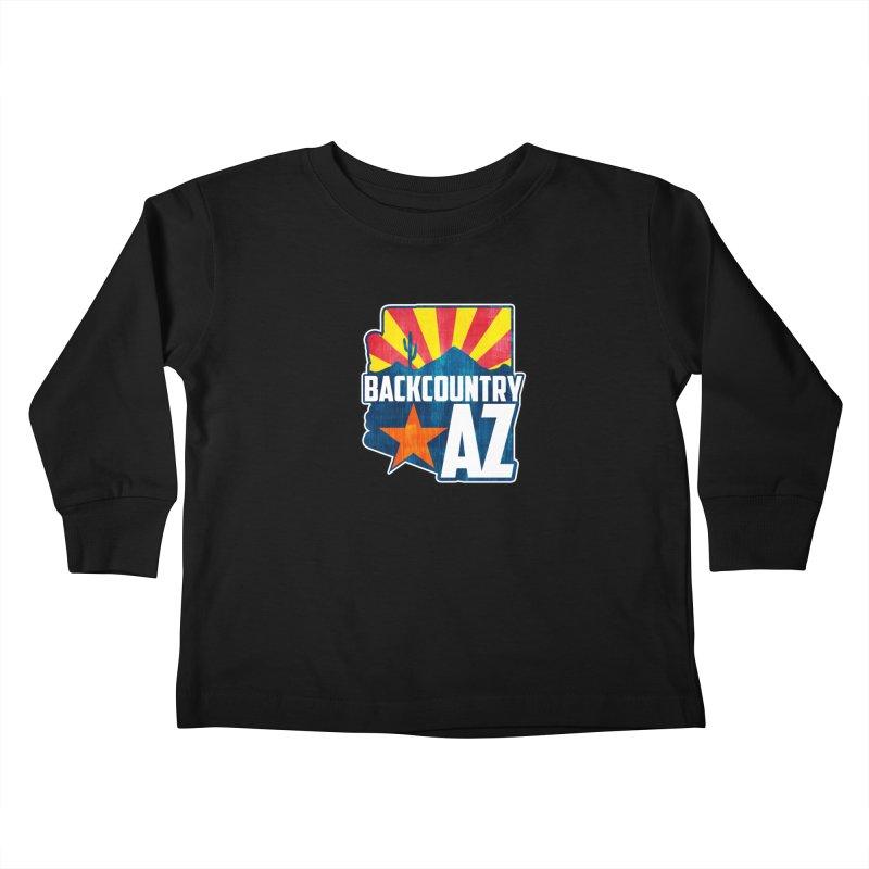 Backcountry Arizona Kids Toddler Longsleeve T-Shirt by five16design's Artist Shop