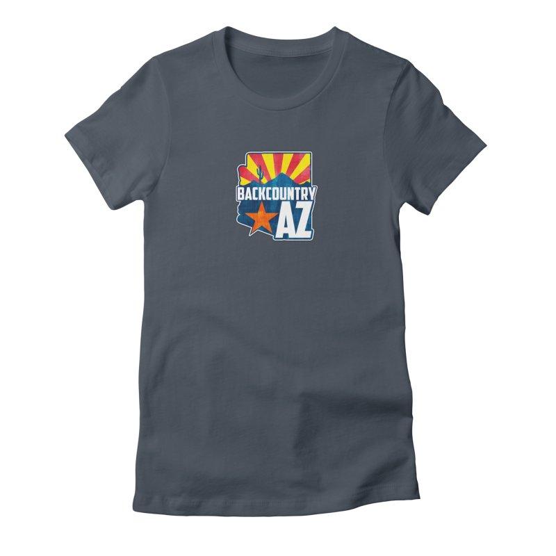 Backcountry Arizona Women's T-Shirt by five16design's Artist Shop