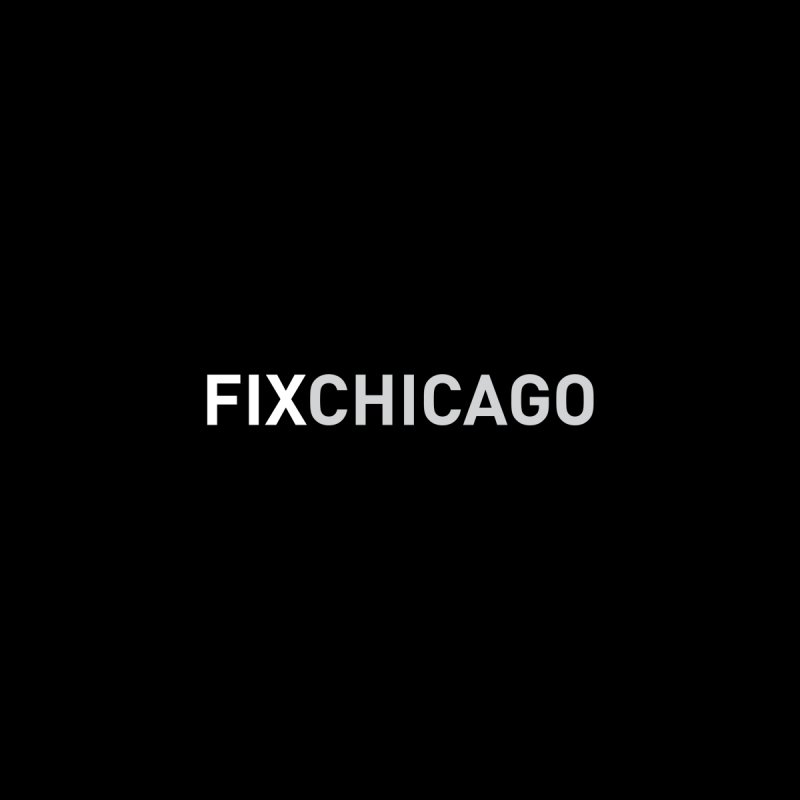 FIXCHICAGO BW Men's T-Shirt by Fix Chicago