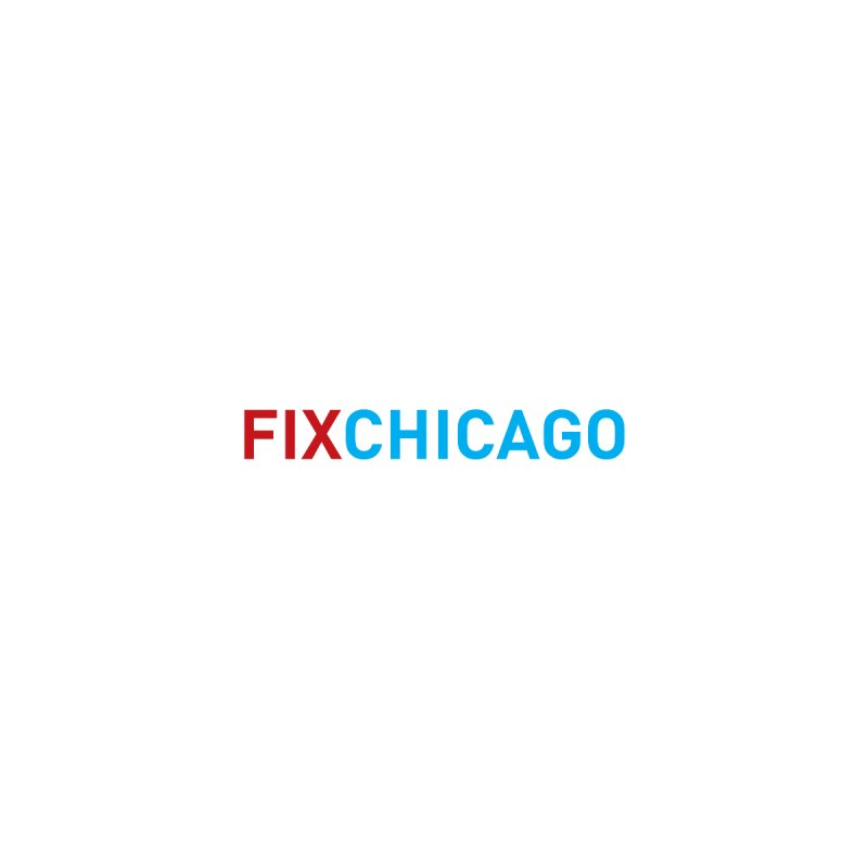 FIXCHICAGO RED/BLUE Men's T-Shirt by Fix Chicago