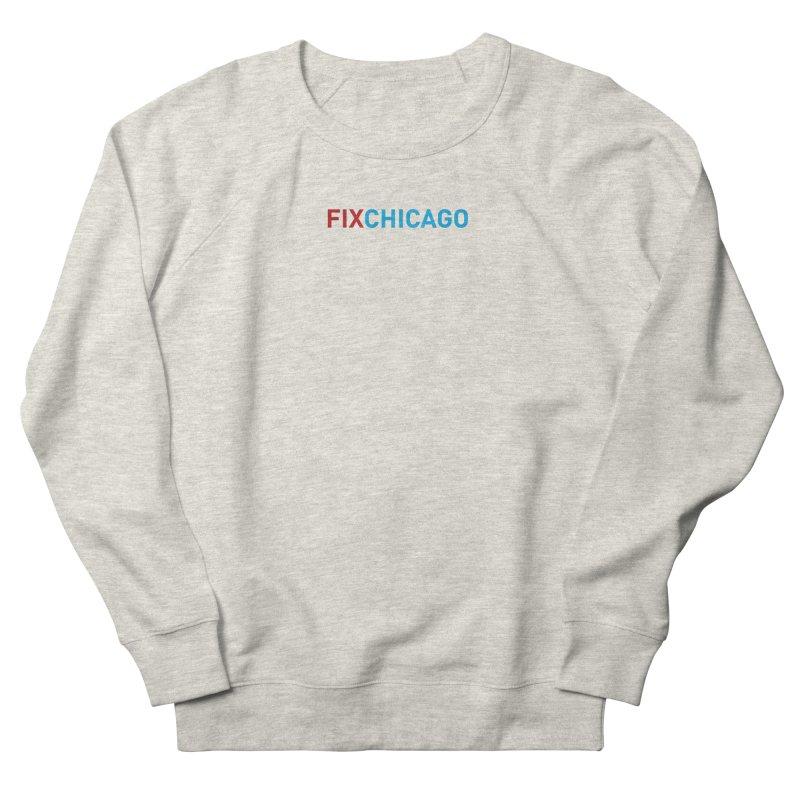 FIXCHICAGO RED/BLUE Men's Sweatshirt by Fix Chicago