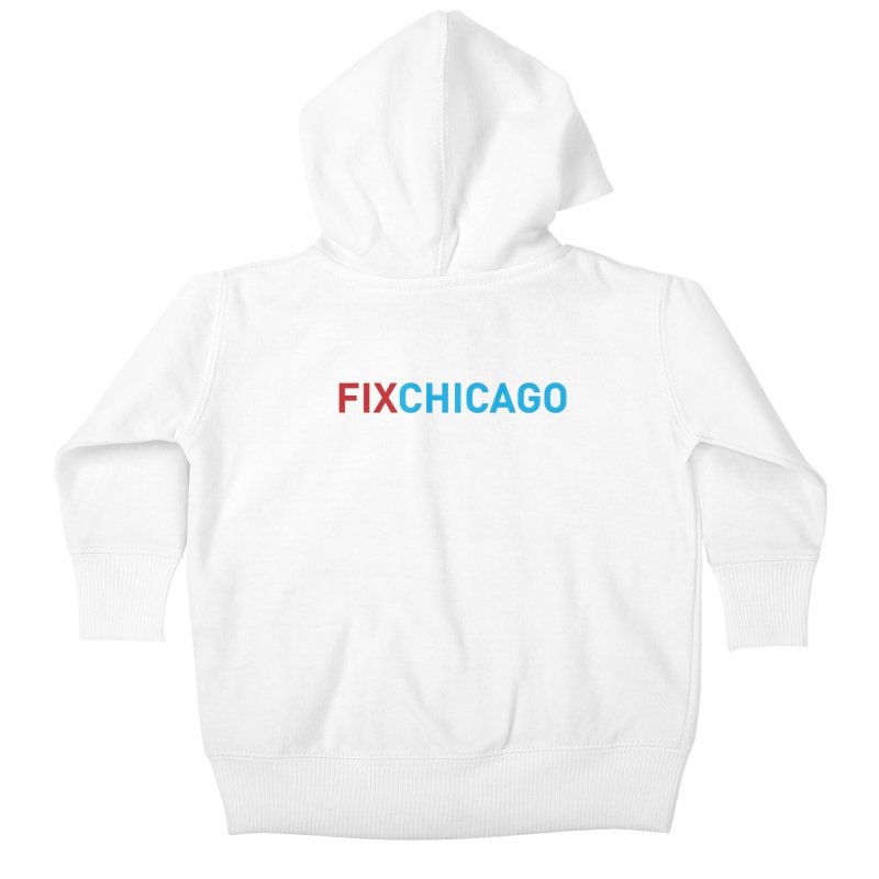 FIXCHICAGO RED/BLUE Kids Baby Zip-Up Hoody by Fix Chicago