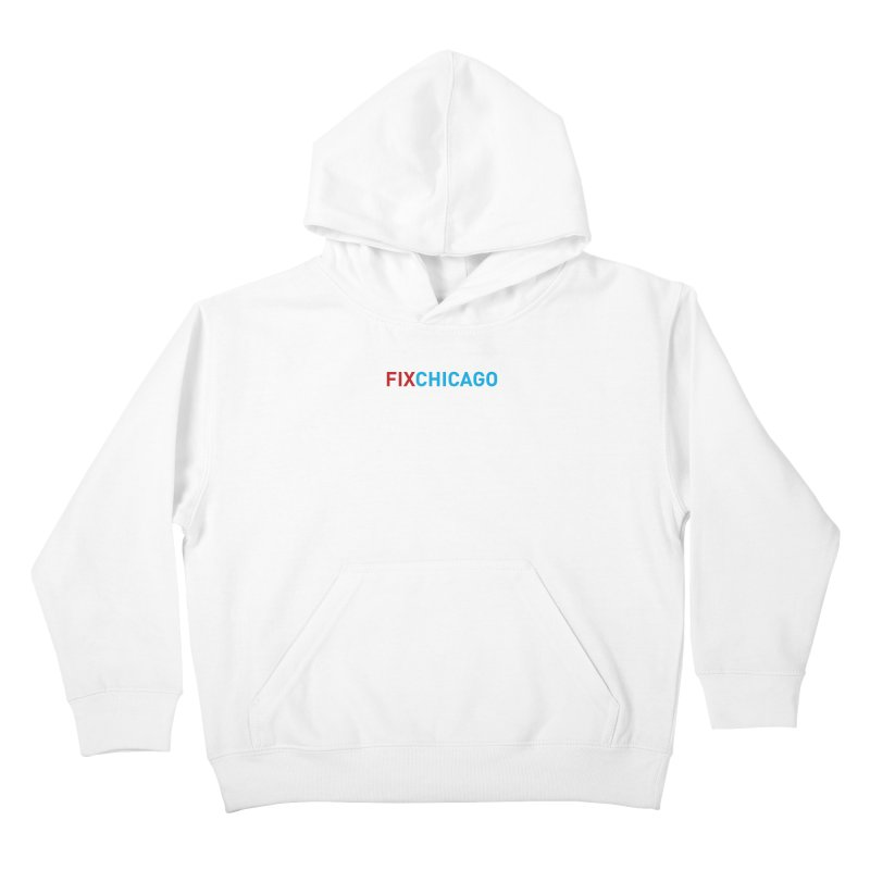 FIXCHICAGO RED/BLUE Kids Pullover Hoody by Fix Chicago