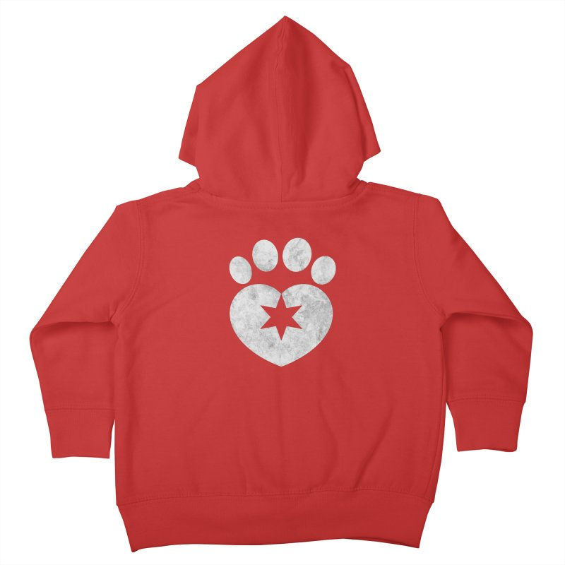PAW BW Kids Toddler Zip-Up Hoody by Fix Chicago