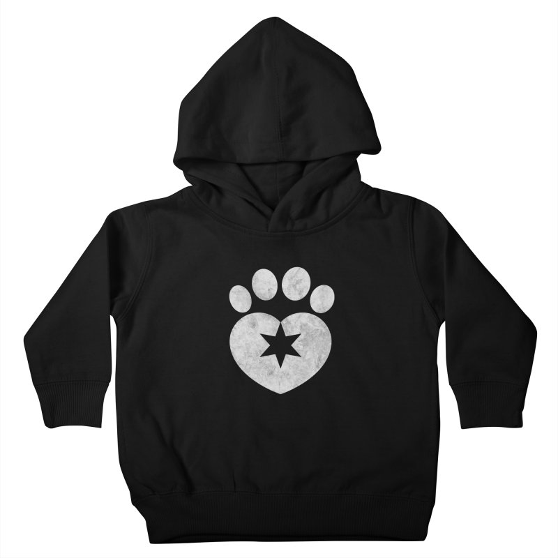 PAW BW Kids Toddler Pullover Hoody by Fix Chicago