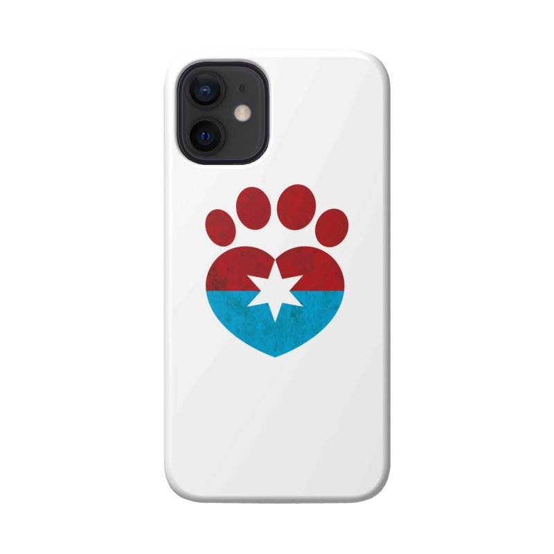 PAW RED/BLUE Accessories Phone Case by Fix Chicago