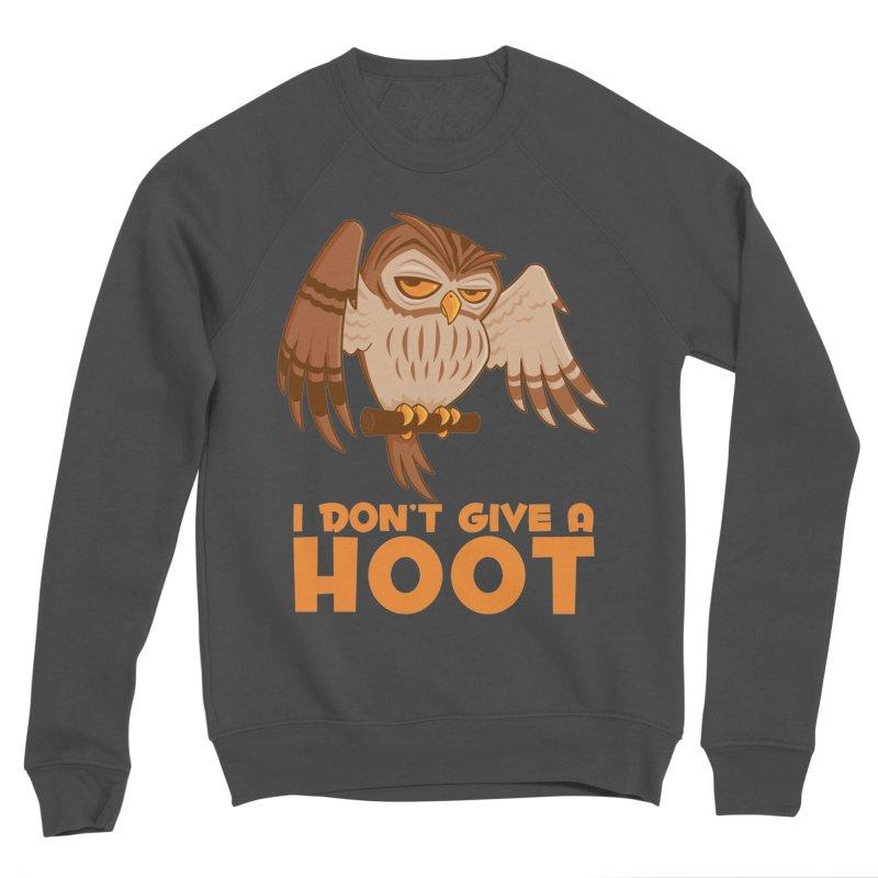 I Don't Give A Hoot Owl Men's Sponge Fleece Sweatshirt by Fizzgig's Artist Shop