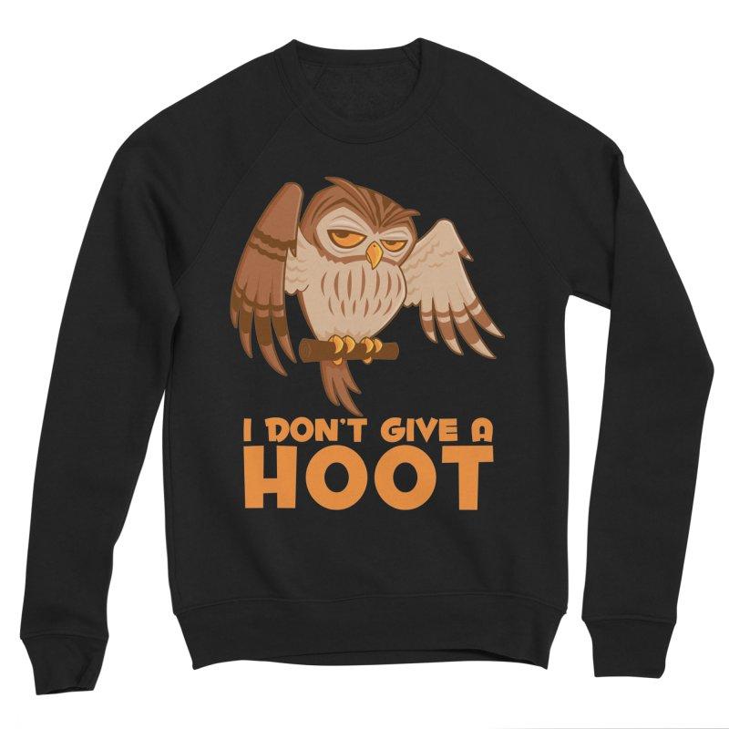 I Don't Give A Hoot Owl Women's Sponge Fleece Sweatshirt by Fizzgig's Artist Shop