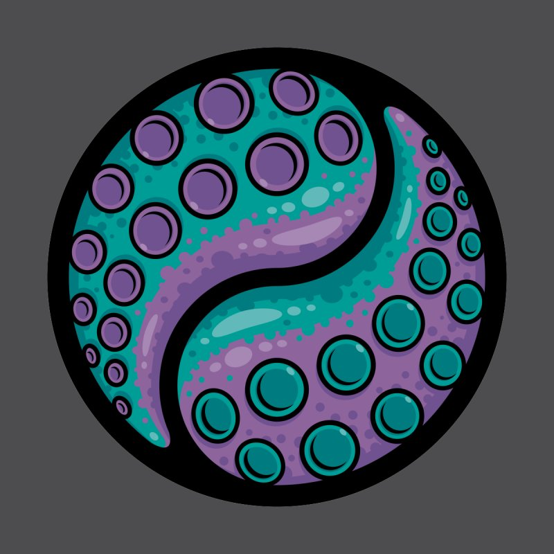 Tentacle Yin Yang by Fizzgig's Artist Shop