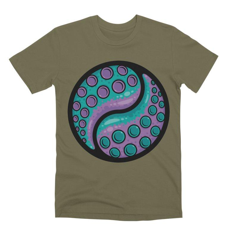 Tentacle Yin Yang Men's Premium T-Shirt by Fizzgig's Artist Shop