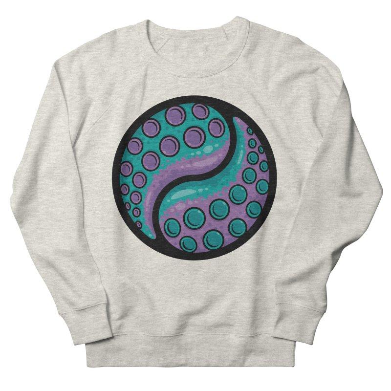 Tentacle Yin Yang Women's French Terry Sweatshirt by Fizzgig's Artist Shop