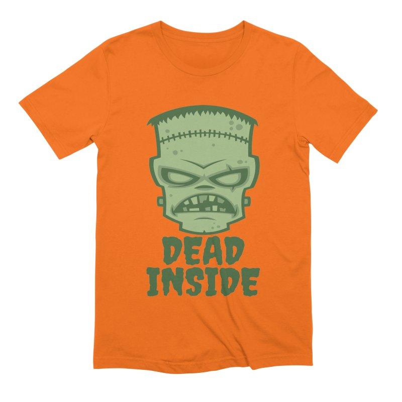 Dead Inside Frankenstein Monster Men's Extra Soft T-Shirt by Fizzgig's Artist Shop