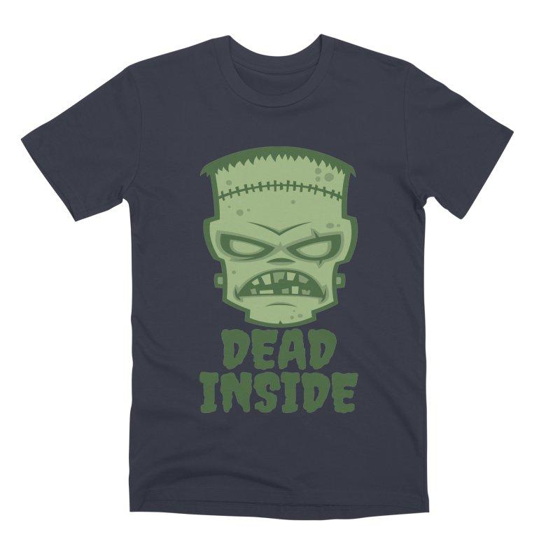 Dead Inside Frankenstein Monster Men's Premium T-Shirt by Fizzgig's Artist Shop