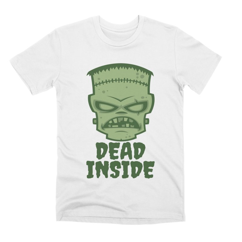 Dead Inside Frankenstein Monster Men's Premium T-Shirt by Fizzgig's Artist Shop