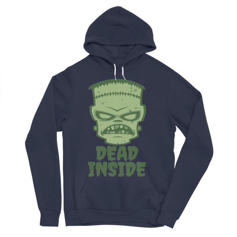 Dead Inside Frankenstein Monster Men's Sponge Fleece Pullover Hoody by Fizzgig's Artist Shop