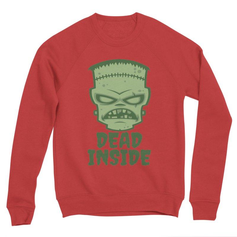 Dead Inside Frankenstein Monster Men's Sponge Fleece Sweatshirt by Fizzgig's Artist Shop