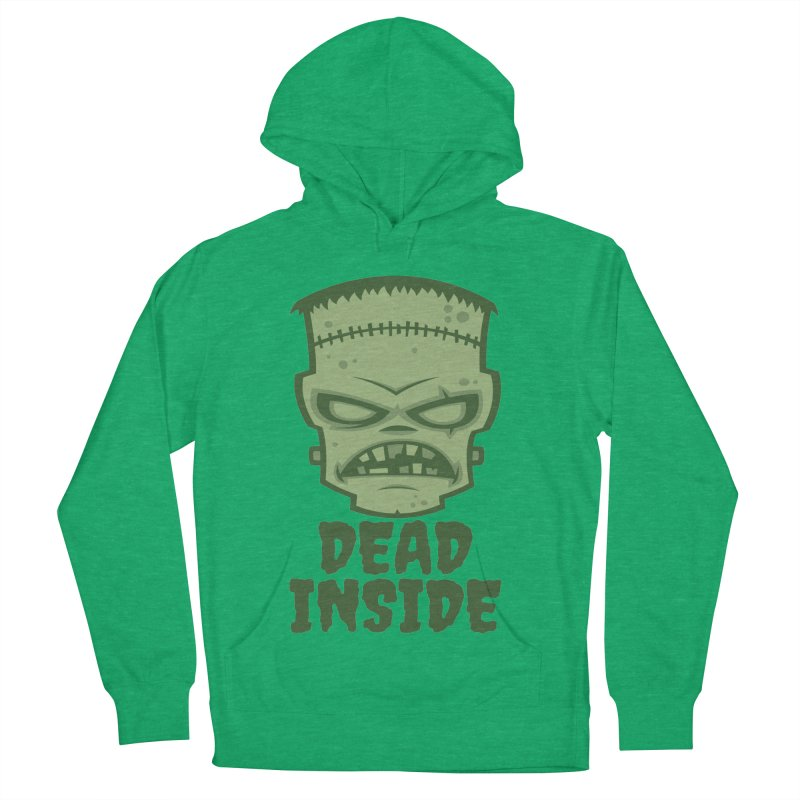 Dead Inside Frankenstein Monster Women's French Terry Pullover Hoody by Fizzgig's Artist Shop
