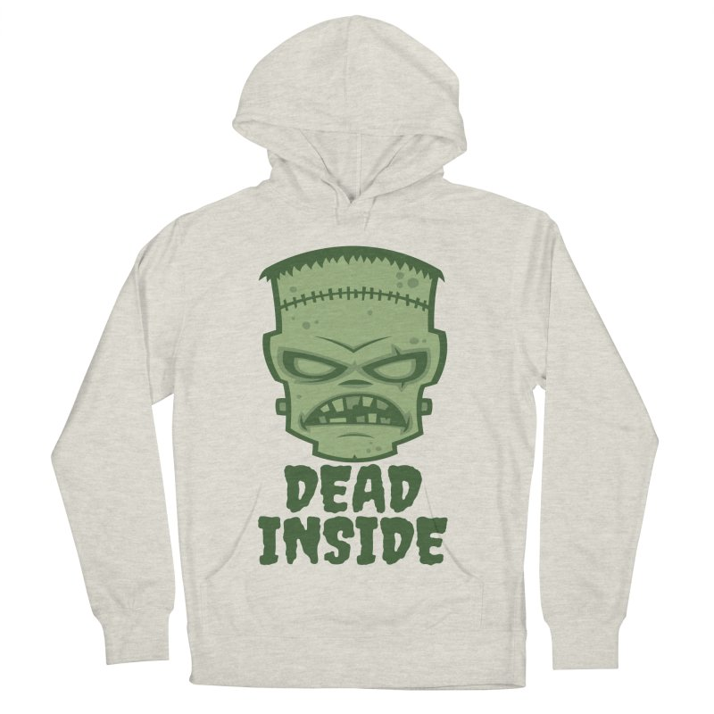 Dead Inside Frankenstein Monster Women's French Terry Pullover Hoody by Fizzgig's Artist Shop