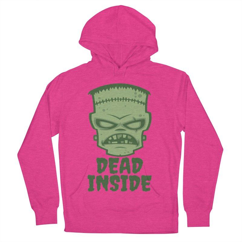 Dead Inside Frankenstein Monster Men's French Terry Pullover Hoody by Fizzgig's Artist Shop