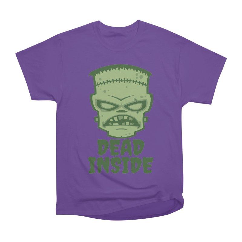 Dead Inside Frankenstein Monster Women's Heavyweight Unisex T-Shirt by Fizzgig's Artist Shop