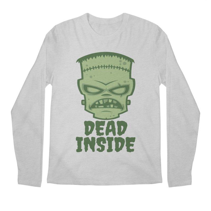 Dead Inside Frankenstein Monster Men's Regular Longsleeve T-Shirt by Fizzgig's Artist Shop
