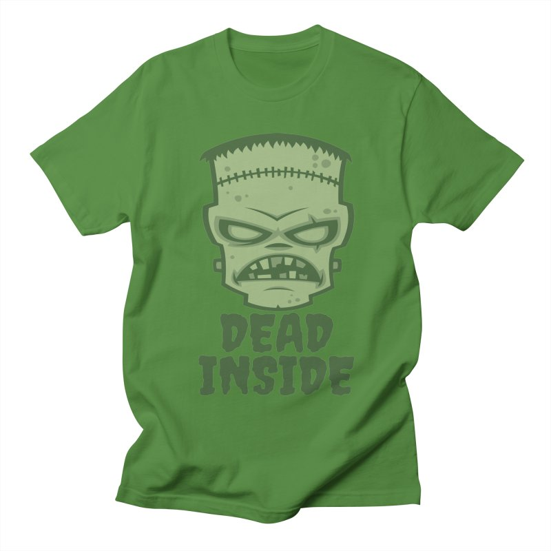 Dead Inside Frankenstein Monster Women's Regular Unisex T-Shirt by Fizzgig's Artist Shop