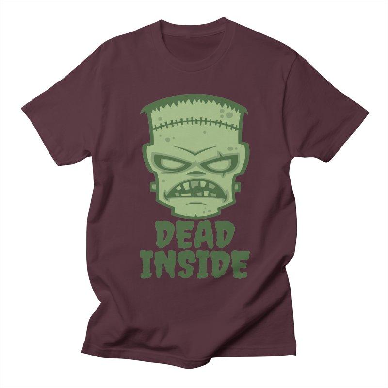 Dead Inside Frankenstein Monster Women's Regular Unisex T-Shirt by Fizzgig's Artist Shop