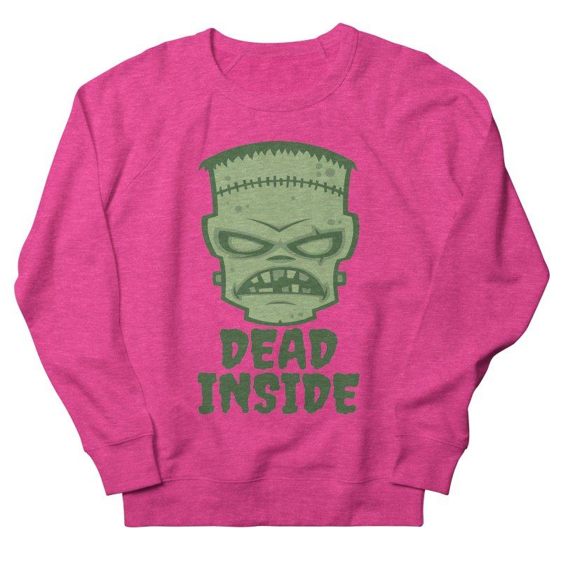 Dead Inside Frankenstein Monster Men's French Terry Sweatshirt by Fizzgig's Artist Shop