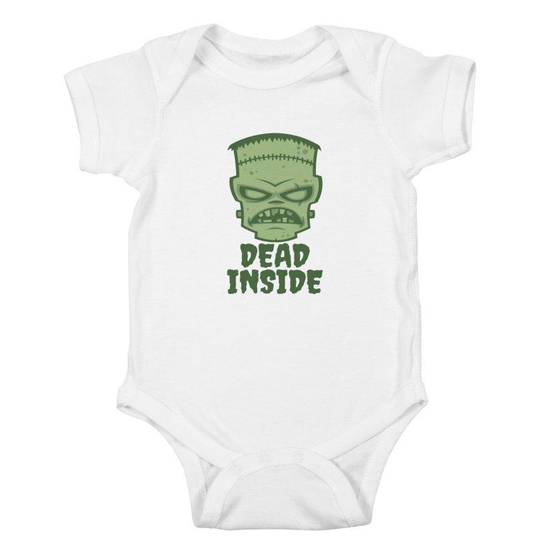 Dead Inside Frankenstein Monster Kids Baby Bodysuit by Fizzgig's Artist Shop