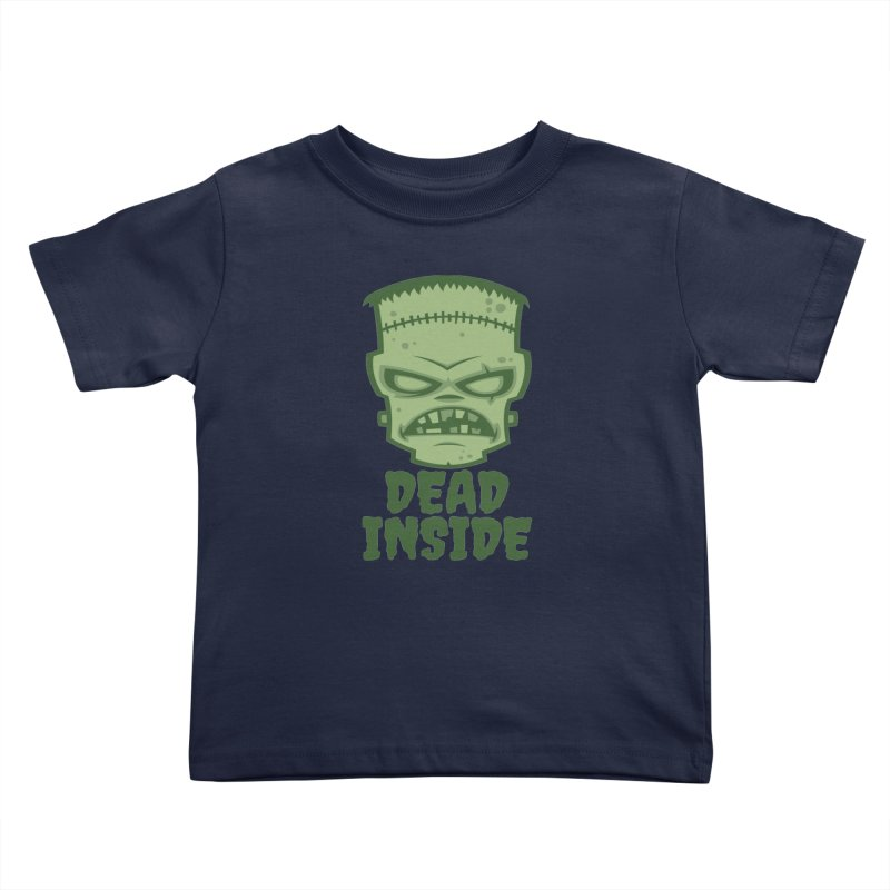 Dead Inside Frankenstein Monster Kids Toddler T-Shirt by Fizzgig's Artist Shop