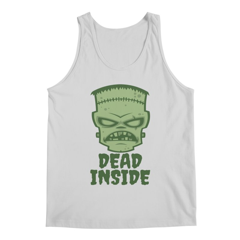 Dead Inside Frankenstein Monster Men's Regular Tank by Fizzgig's Artist Shop