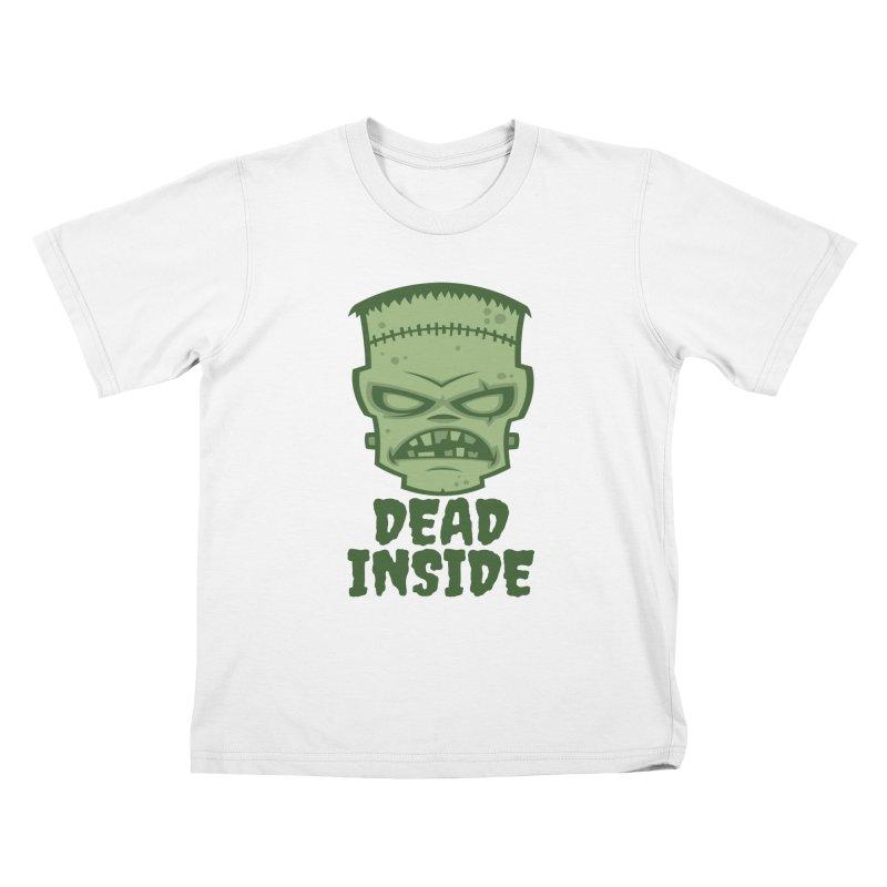 Dead Inside Frankenstein Monster Kids T-Shirt by Fizzgig's Artist Shop