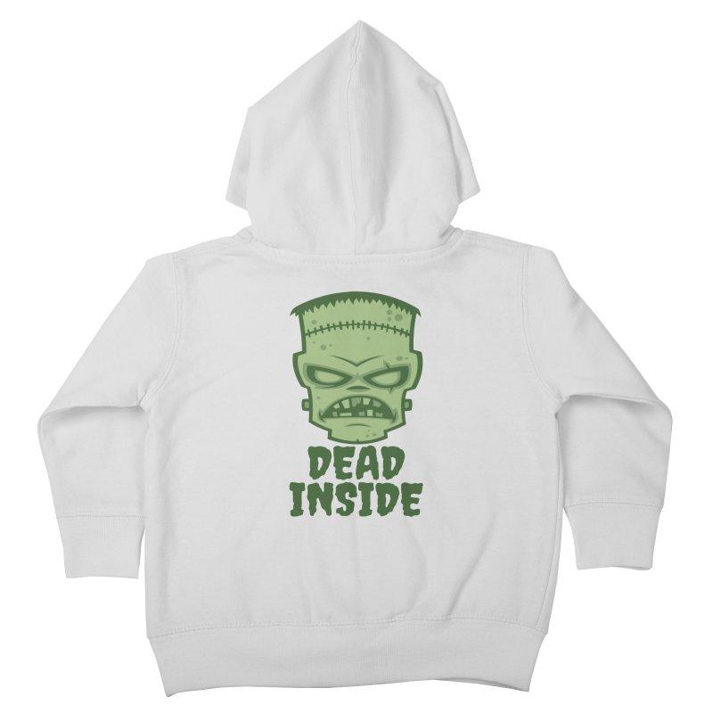 Dead Inside Frankenstein Monster Kids Toddler Zip-Up Hoody by Fizzgig's Artist Shop