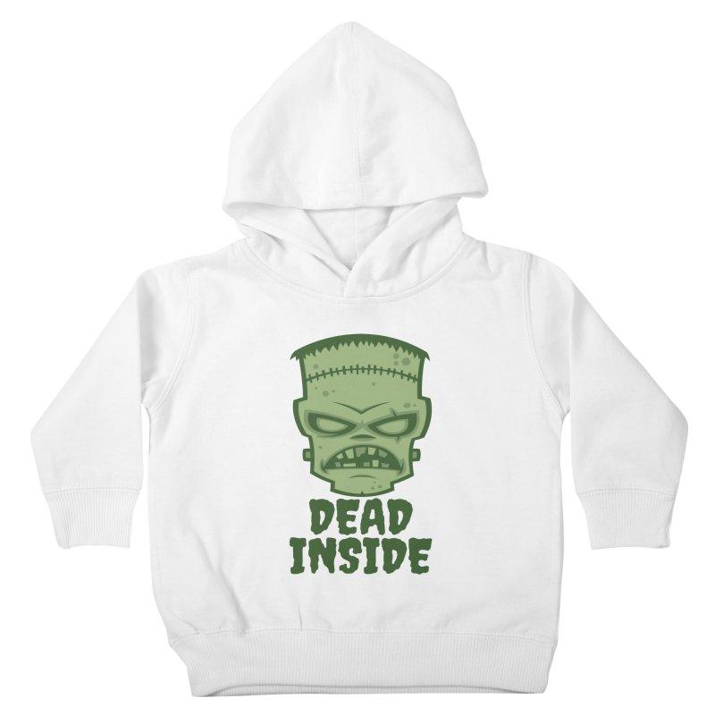 Dead Inside Frankenstein Monster Kids Toddler Pullover Hoody by Fizzgig's Artist Shop