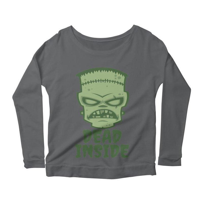 Dead Inside Frankenstein Monster Women's Longsleeve T-Shirt by Fizzgig's Artist Shop