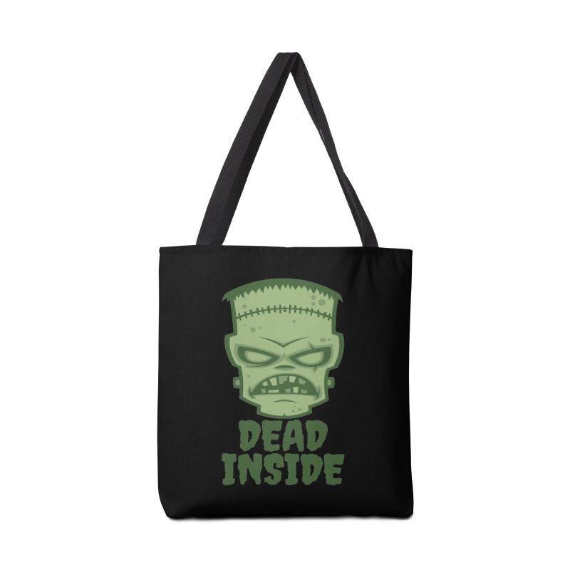 Dead Inside Frankenstein Monster Accessories Tote Bag Bag by Fizzgig's Artist Shop