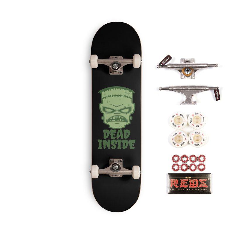 Dead Inside Frankenstein Monster Accessories Complete - Pro Skateboard by Fizzgig's Artist Shop