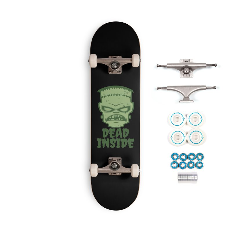 Dead Inside Frankenstein Monster Accessories Complete - Basic Skateboard by Fizzgig's Artist Shop