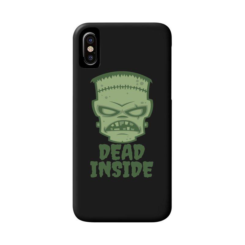 Dead Inside Frankenstein Monster Accessories Phone Case by Fizzgig's Artist Shop