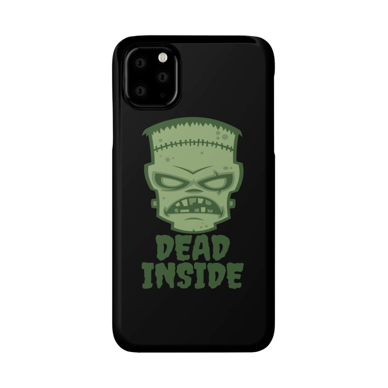 Dead Inside Frankenstein Monster Accessories Phone Case by Fizzgig's Artist Shop